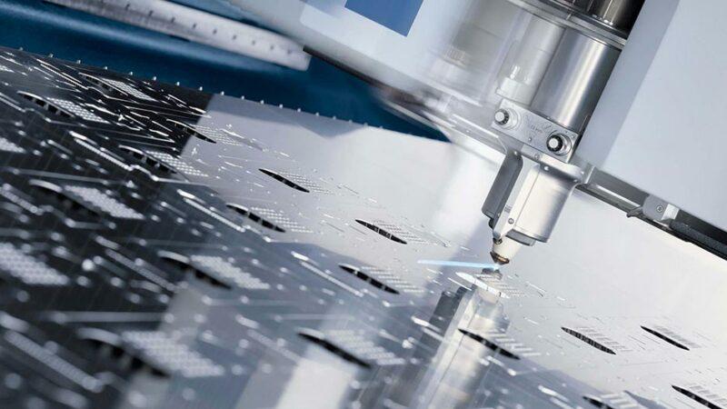 بررسی فرایند برش لیزر آلومینیوم