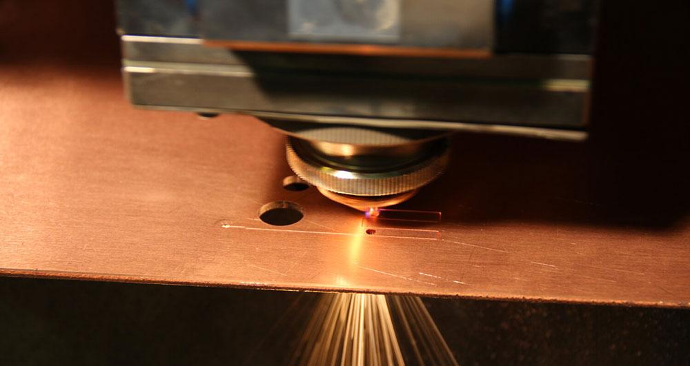 برش لیزر مس؛ اوج شکوه و خلاقیت و فناوری