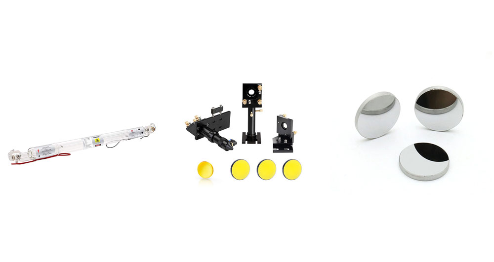 بخش های تشکیل دهنده لیزر گازی چیست؟
